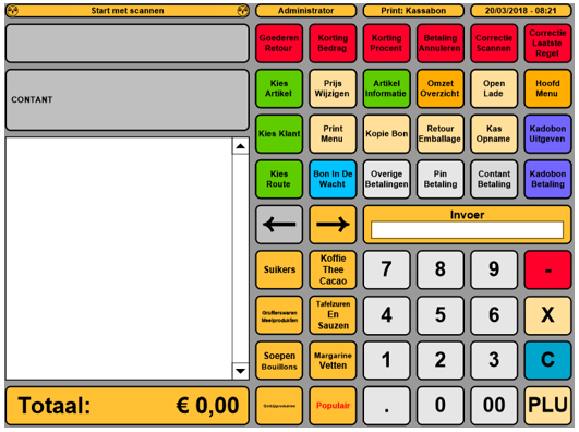 POS Systeem van Hunter-Retail